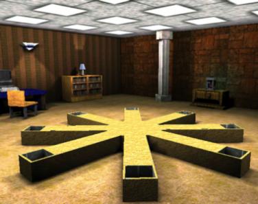 Virtual reality radial 8-arm maze
