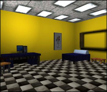 Virtual reality bedroom